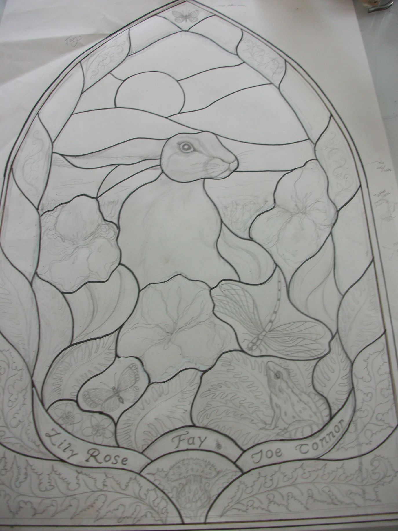 Stained Glass Outlines