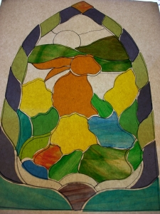 Stained Glass Window Pieces