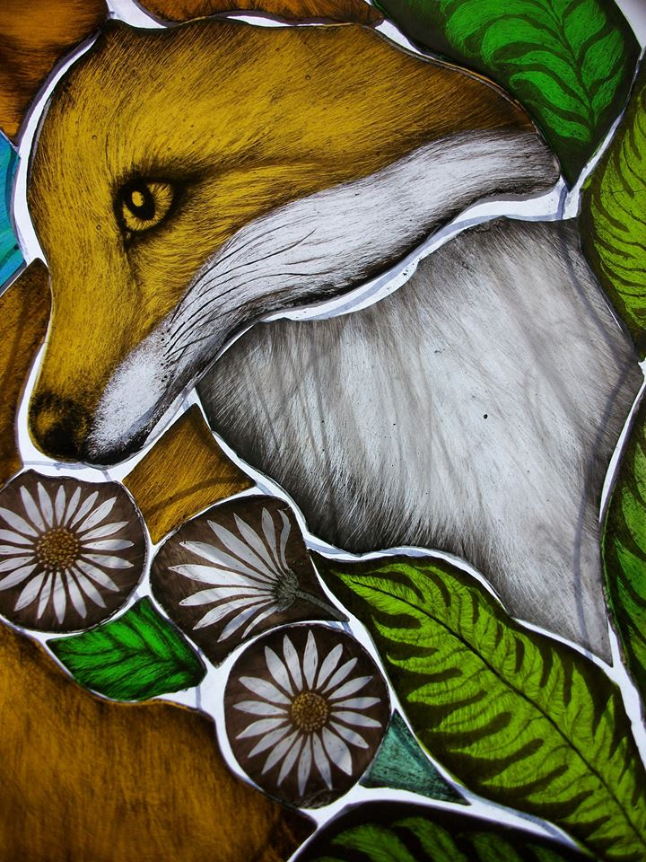 stained glass artist angie dibble